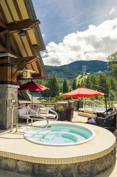 Nita Lake Lodge Hot Tub