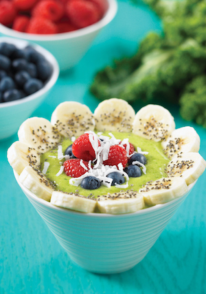Green Coconut Smoothie Bowl
