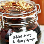 elderberry and honey syrup remedy