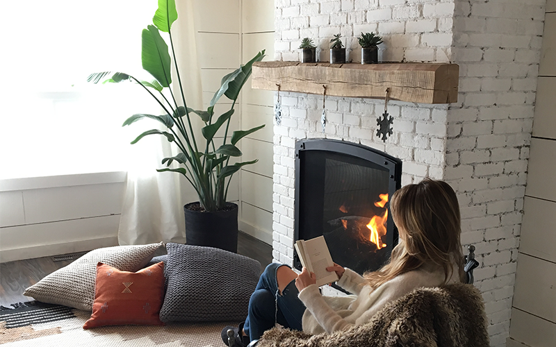 Intentional Home Space Fireplace