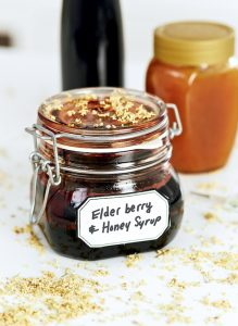 elberyberry honey syrup