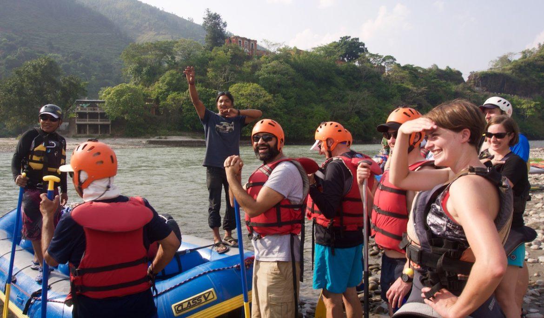 Saluting the Sun (Kosi River)