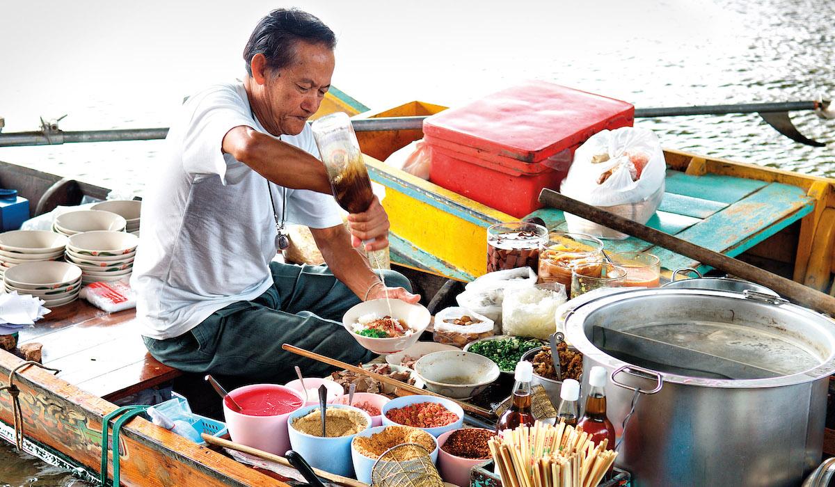 Intrepid Travel Thailand Boat Noodles