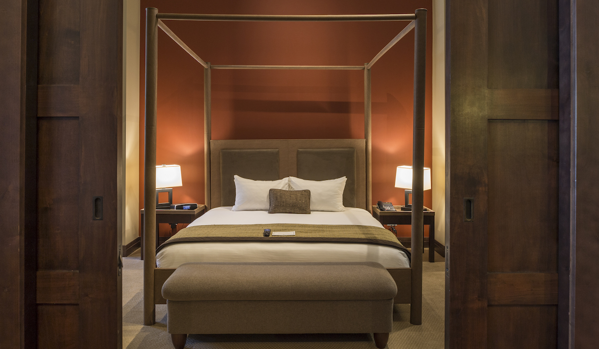 Nita Lake Lodge Bedroom