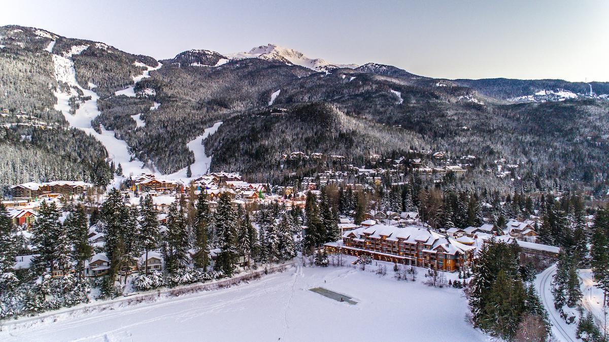 Nita Lake Lodge Winter
