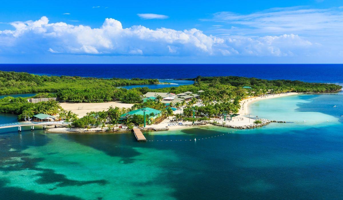 tropical wellness island