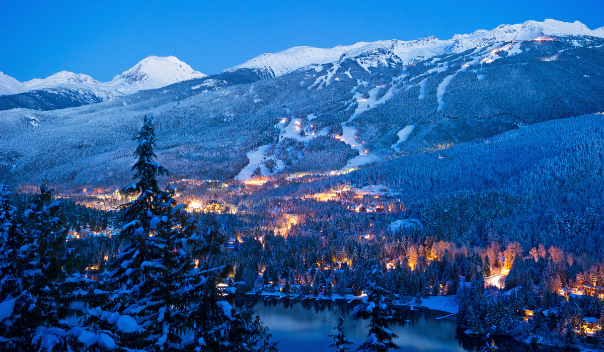 View over Whistler