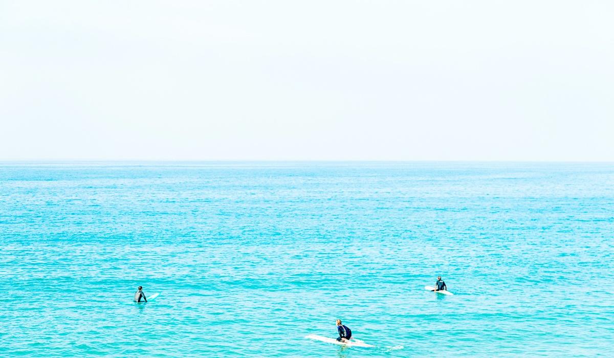 Newport Beach, California Surfers