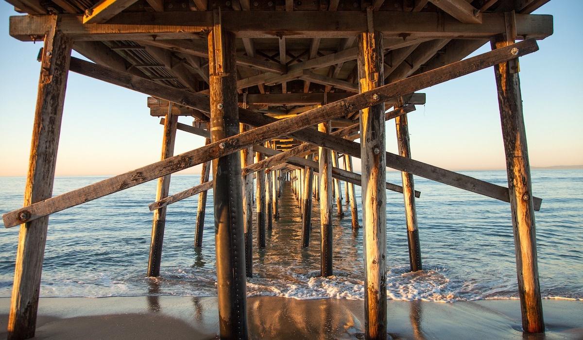 Newport Beach, California Pier