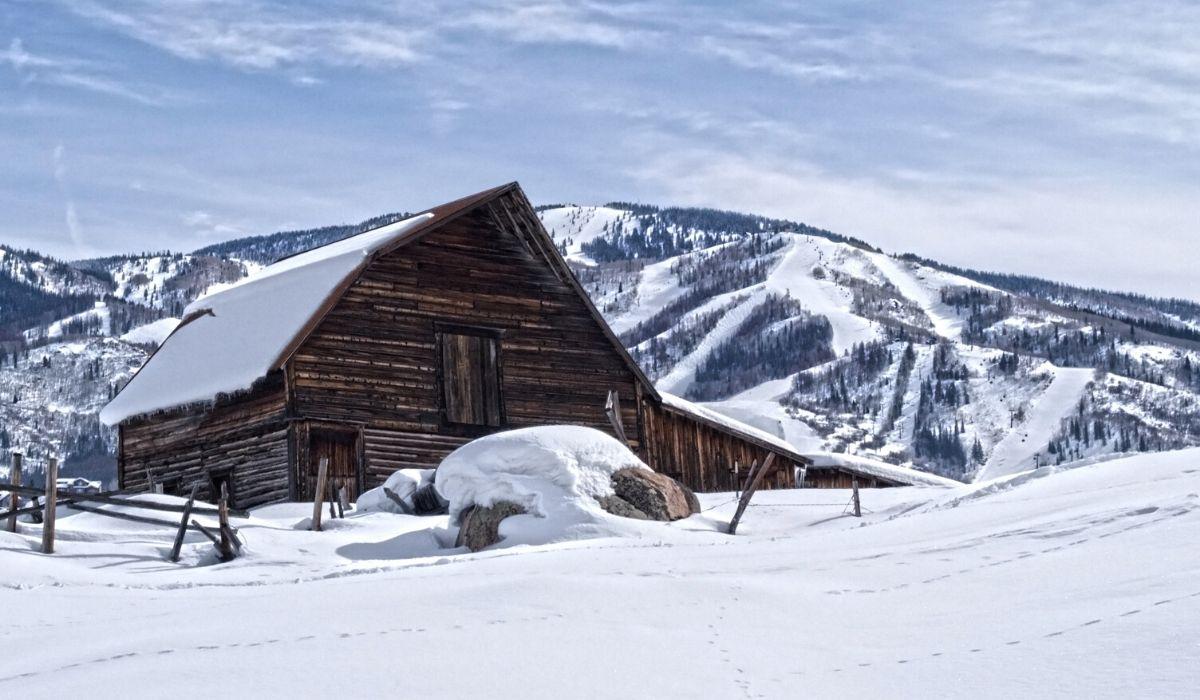 Colorado Winter Cabin
