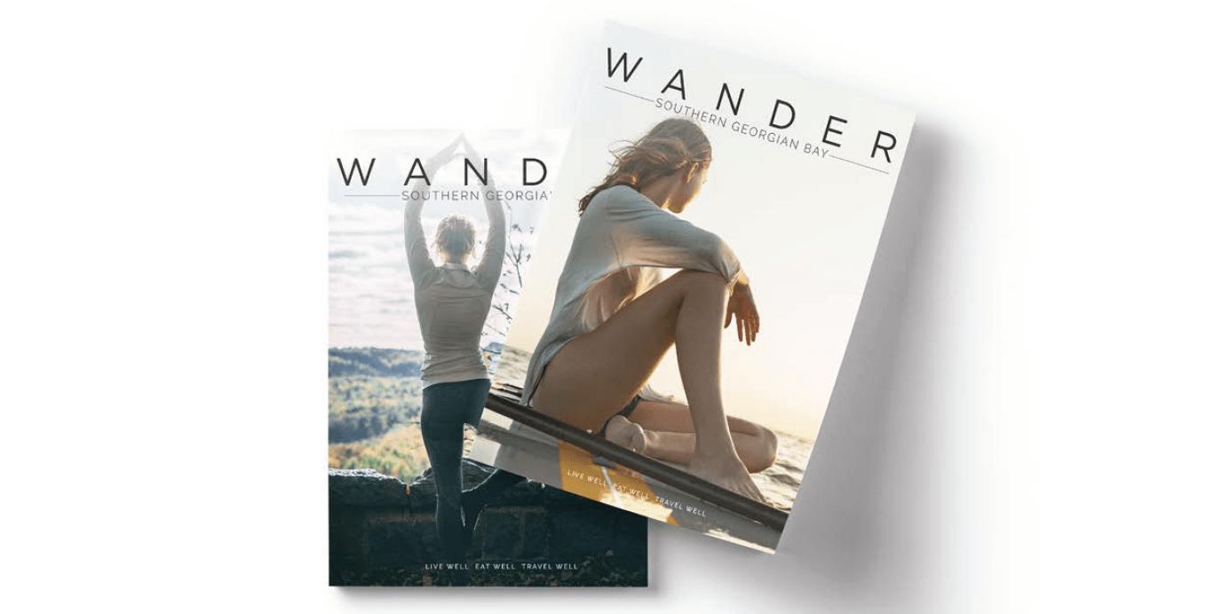 Wander Southern Georgian Bay Covers