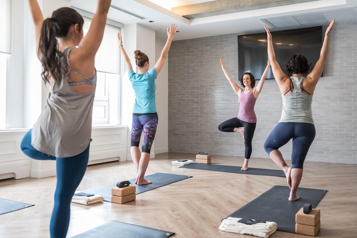Fairmont Chateau Lake Louise Yoga Retreat