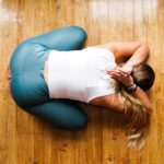yoga floor pose