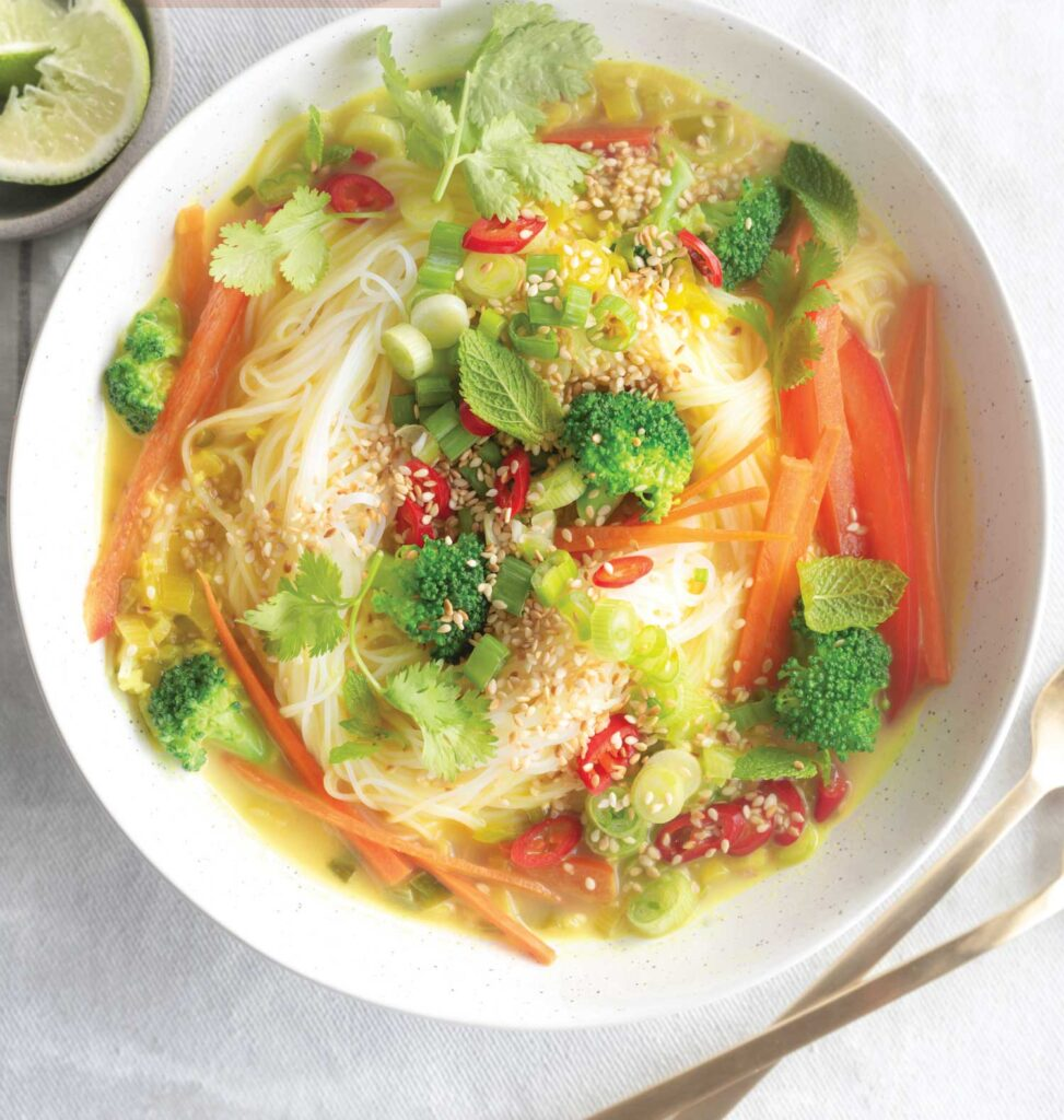 Takeout Thai Curry Coconut Soup