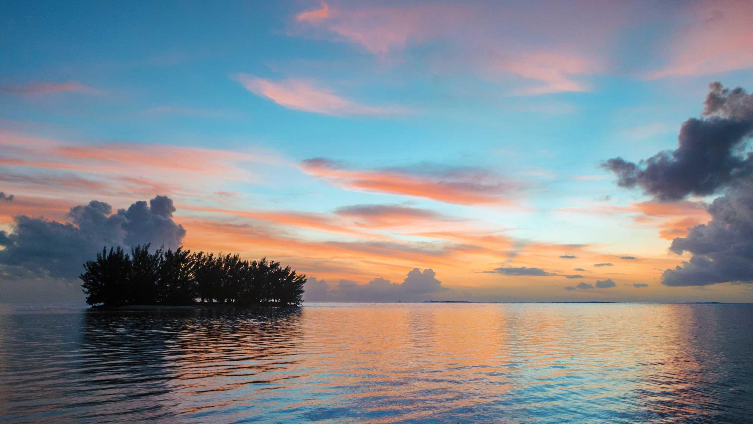 Tahiti Sunset